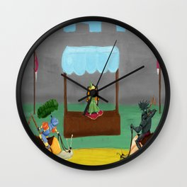 It will be a  very long midday Wall Clock