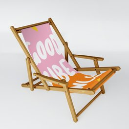 Good Vibes Only Sling Chair
