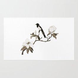 Magpie and Magnolia Rug