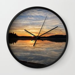 Minnesota Sunrise Wall Clock