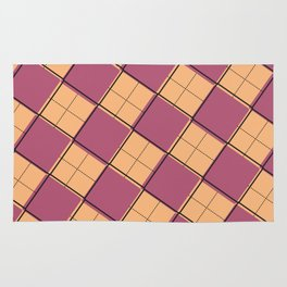 Argyle Out of Line Warm Rug