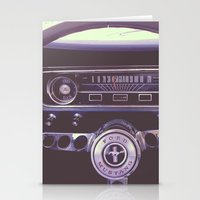 mustang Stationery Cards featuring Mustang by Jeremiah Locke