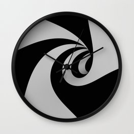 Hypnotic/Abstract Tunnel Wall Clock