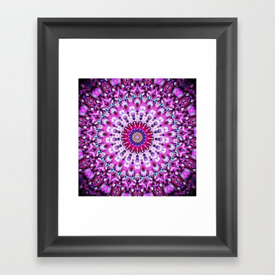 ARABESQUE PINK Framed Art Print