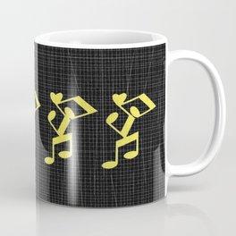 dance musical notes Mug