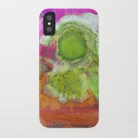 safari iPhone & iPod Cases featuring Safari by Heather Plewes Art