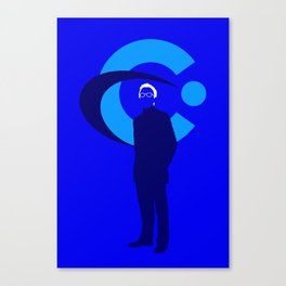 Elliot Carver Canvas Print