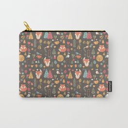 Baby fox pattern 04 Carry-All Pouch