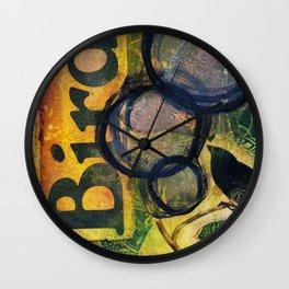 Playing With Arts No. 1 Wall Clock