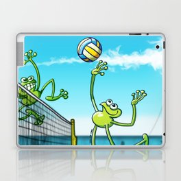 Olympic Volleyball Frog Laptop & iPad Skin