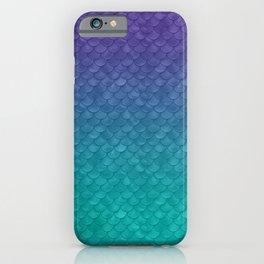Ariel Mermaid Inspired Purple & Green iPhone Case