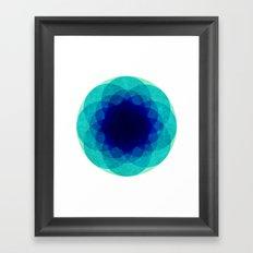 psychedelic flower [Circle Week] Framed Art Print