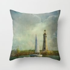 Guided by Love Throw Pillow