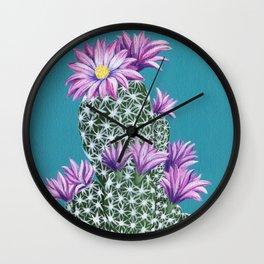 Purple Escobar Wall Clock