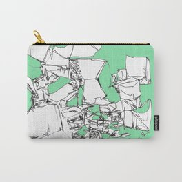 Mint Chocolate Carry-All Pouch