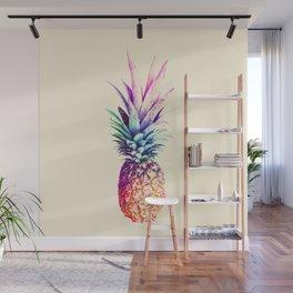 Mauve Pineapple Wall Mural