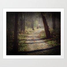 Wicked Woods Art Print