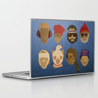wes anderson Laptop & iPad Skins featuring Wes Anderson Hats by godzillagirl