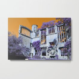 Castle Grounds Metal Print