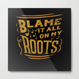 Country Music Metal Print