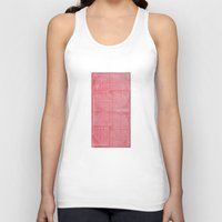 boobs Tank Tops featuring Robotic Boobs Red by Mr Christer Design