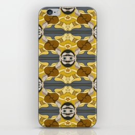 Unibrow Boxer Tessellation iPhone Skin