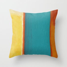 Triple Jump Throw Pillow