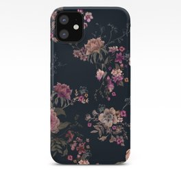 Japanese Boho Floral iPhone Case