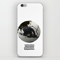 planet of the apes iPhone & iPod Skins featuring apes by VervetandHowler