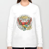 propaganda Long Sleeve T-shirts featuring Graphic propaganda by Tshirt-Factory