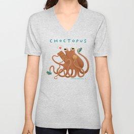 Choctopus Unisex V-Neck