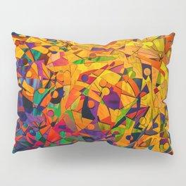 Abstract Golds Pillow Sham