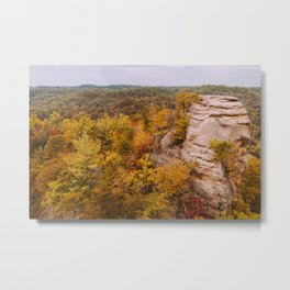Autumn at Lover's Leap Metal Print