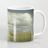 minimalism Mugs featuring landscape minimalism by Dirk Wuestenhagen Imagery