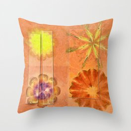 Internarial Concord Flowers  ID:16165-011657-19151 Throw Pillow