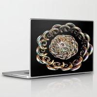 hook Laptop & iPad Skins featuring Hook Rings by Brian Raggatt