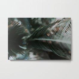 Tropic Green Metal Print