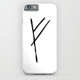 Rune iPhone Case