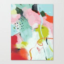 landscape in spring Canvas Print