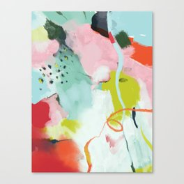 landscape in spring Canvas Print