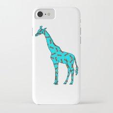 Pineapple Giraffe Slim Case iPhone 7