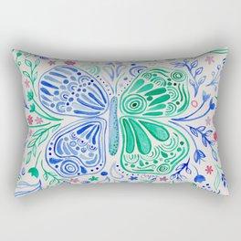 Imperfect Butterfly Rectangular Pillow