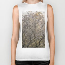 Autumnal tree branches Biker Tank