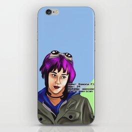 Ramona iPhone Skin