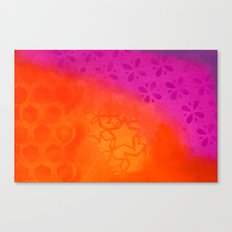 From orange to purple Canvas Print