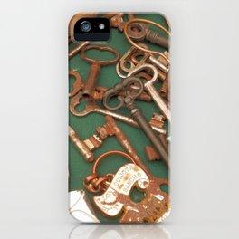 old keys iPhone Case