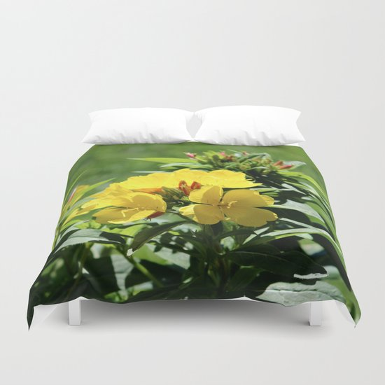 What's Up Buttercup? Duvet Cover