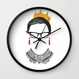 RBG Ruth Bader Ginsburg Drawing Wall Clock