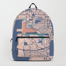 Havana - Cuba Breezy City Map Backpack