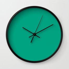 277. Hana-Rokusho (Flower-Verdigris) Wall Clock
